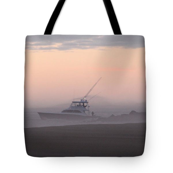 Into The Pink Fog Tote Bag