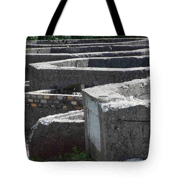 Into The Ruins 3 Tote Bag