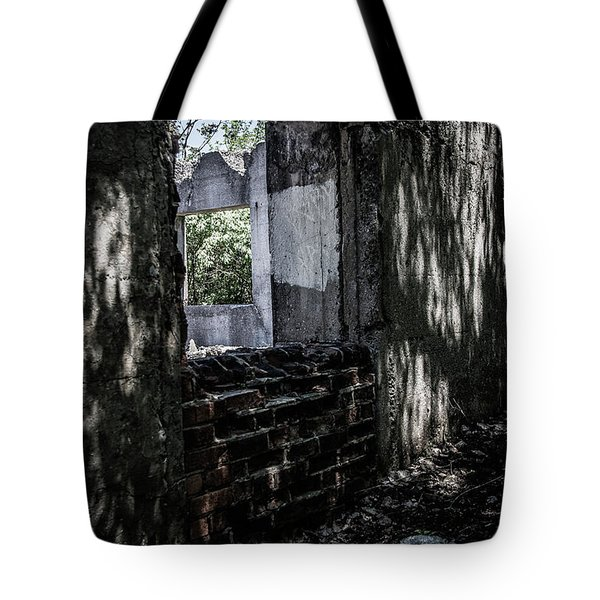 Into The Ruins 4 Tote Bag