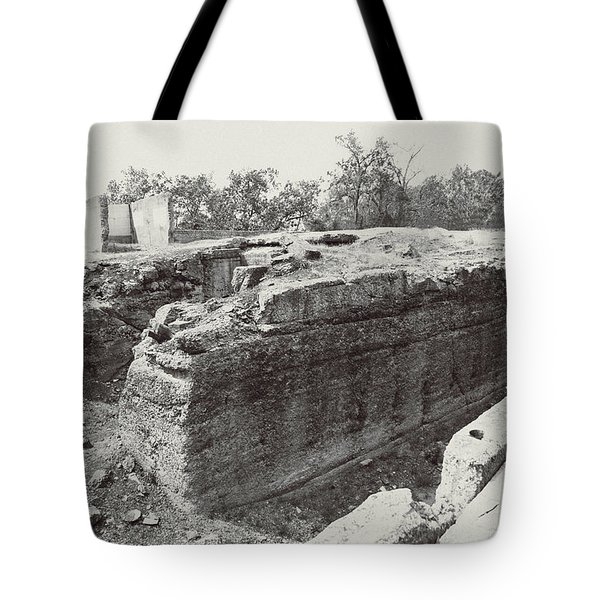 Into The Ruins 5 Tote Bag
