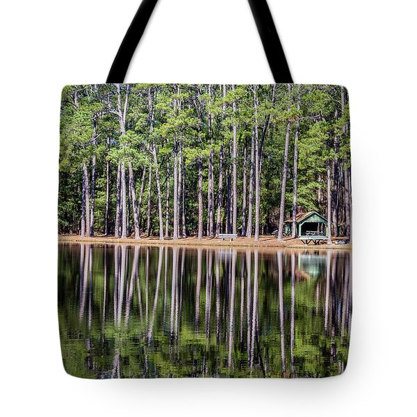 Into The Sc Woods Tote Bag