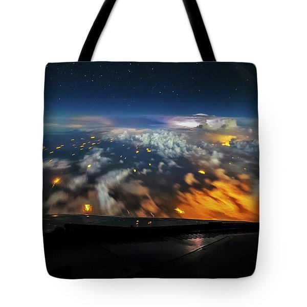 Into The Storm Tote Bag