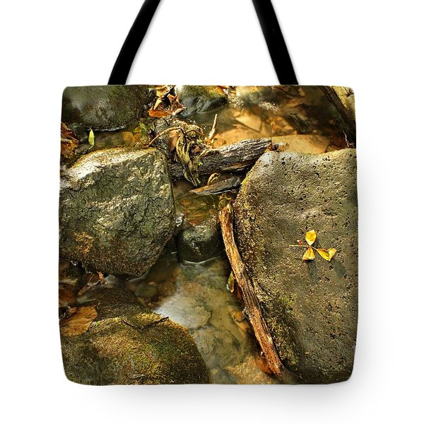 Into The Stream 13  Tote Bag