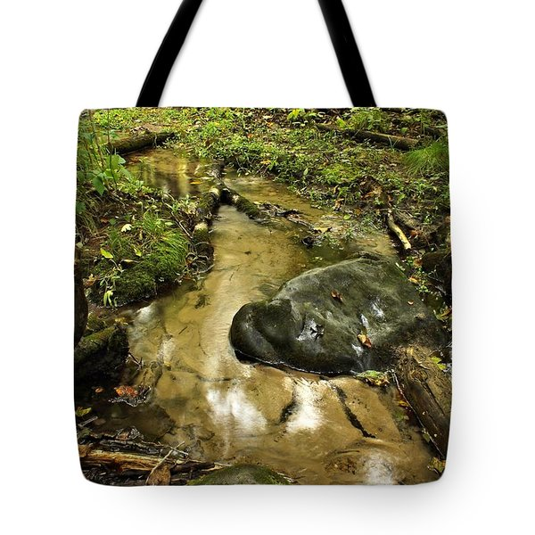 Into The Stream 8 Tote Bag