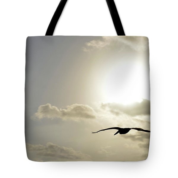 Into The Sun Tote Bag by Sebastien Coursol