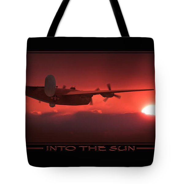 Into The Sun Show Print Tote Bag