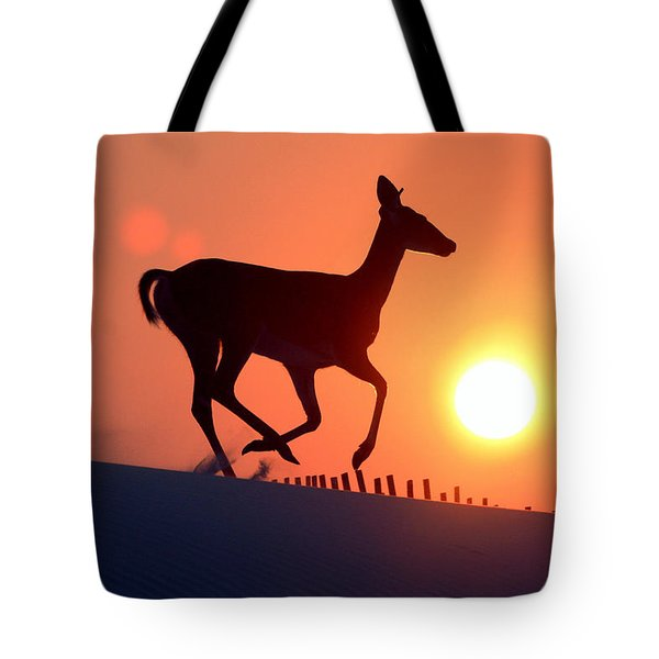 Into The Sunset Tote Bag by Scott Mahon