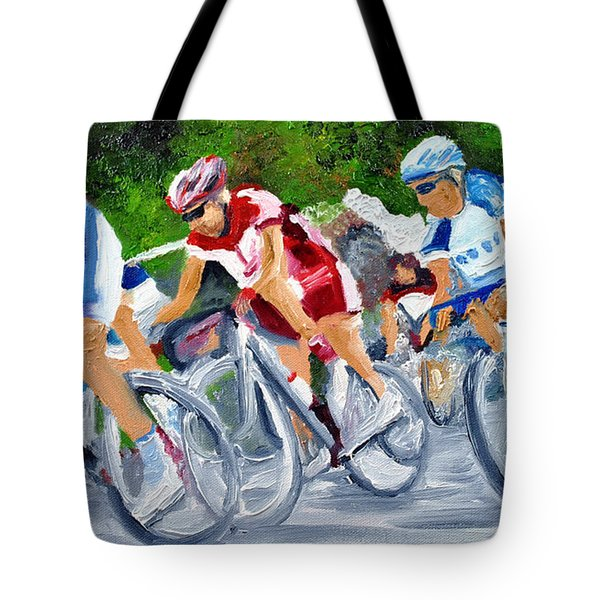 Into The Turn Tote Bag by Michael Lee