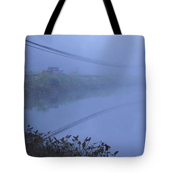 Into The Unknown Tote Bag by Karol Livote