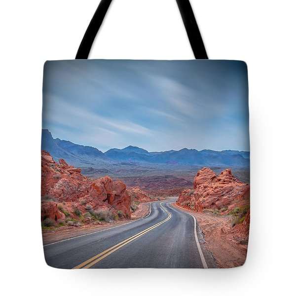 Into The Valley Of Fire Tote Bag