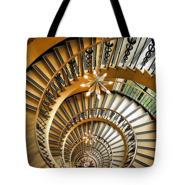 Into The Vortex Tote Bag