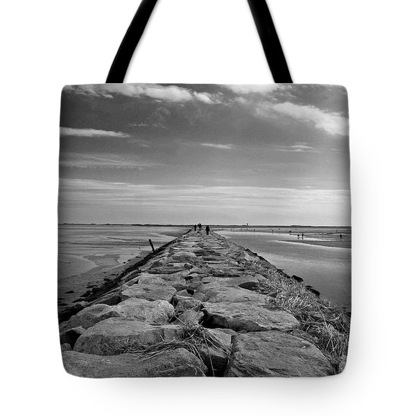 Into The Water Tote Bag by Conor McLaughlin