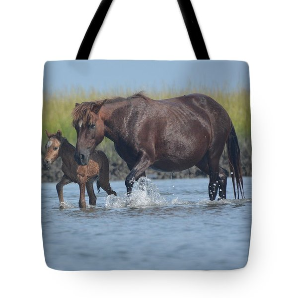 Into The Waters Tote Bag