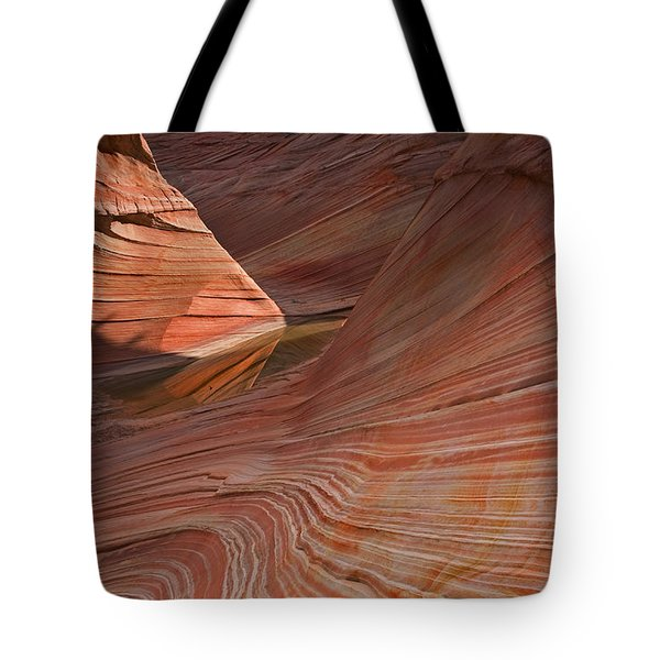 Into The Wave Tote Bag by Mike  Dawson
