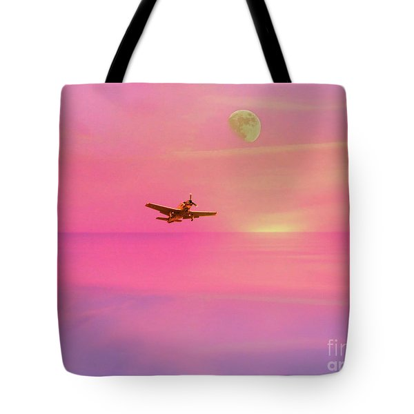 Into The Wild Pink Yonder Tote Bag