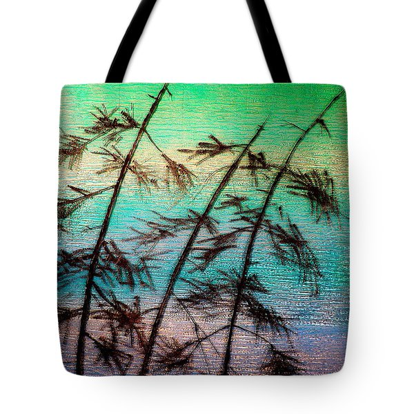 Into The Wind Tote Bag by Rick Silas