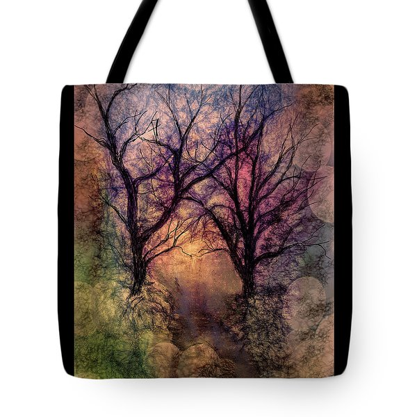Into The Woods Tote Bag by Annette Berglund