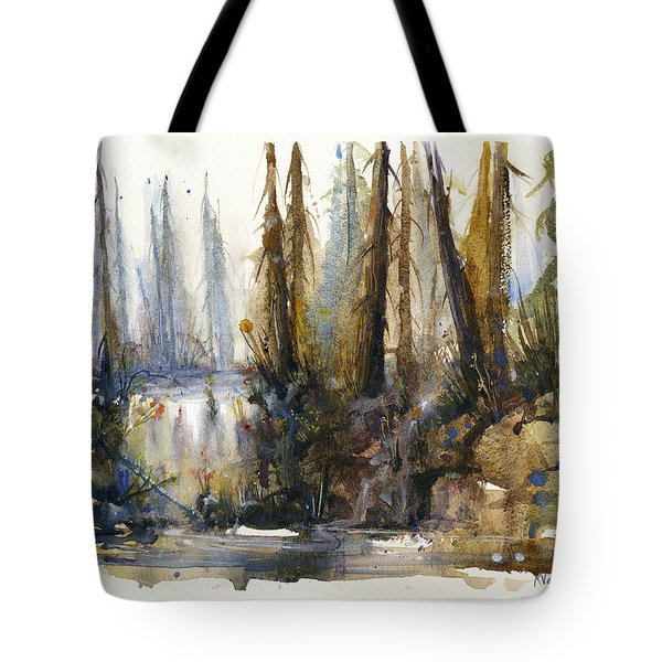 Into The Woods Tote Bag