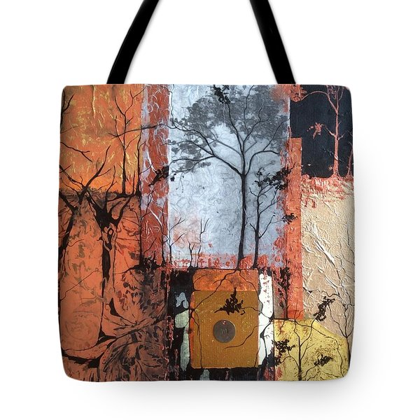 Into The Woods Tote Bag by Pat Purdy