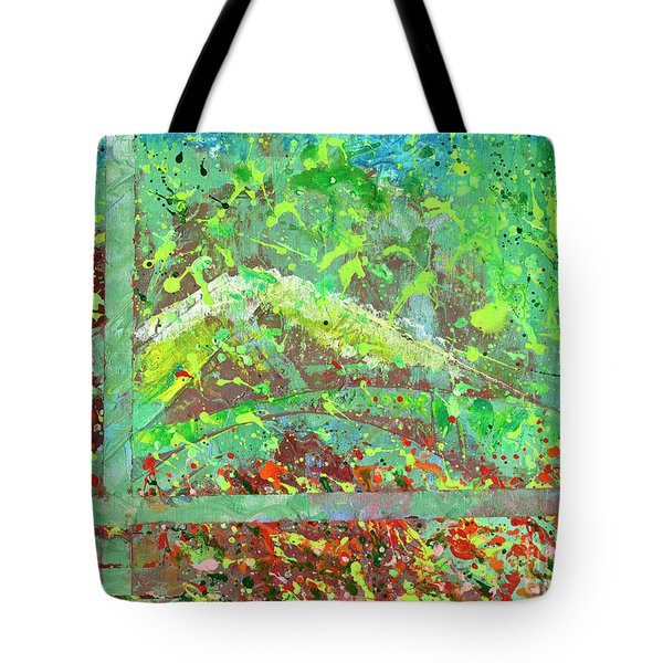 Into The Woods-through The Looking Glass Tote Bag