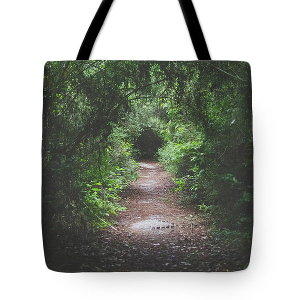 Into The Wormhole Tote Bag by Stefanie Silva