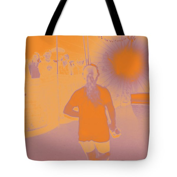 Into The Zone Tote Bag
