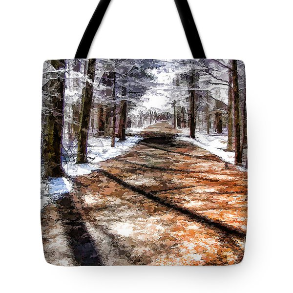 Into Winter Tote Bag