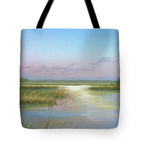 Intracoastal Glimmer Tote Bag