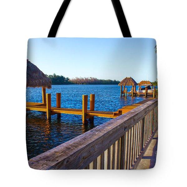 Intracoastal Series 12 Tote Bag