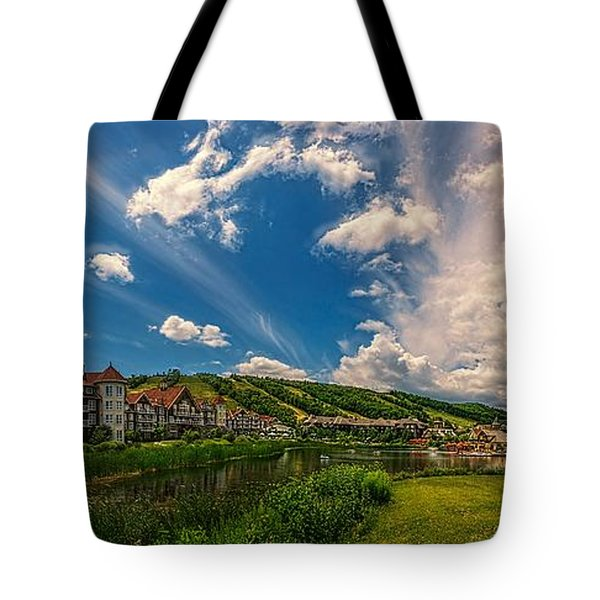 Intrawest Four Season Resort Tote Bag