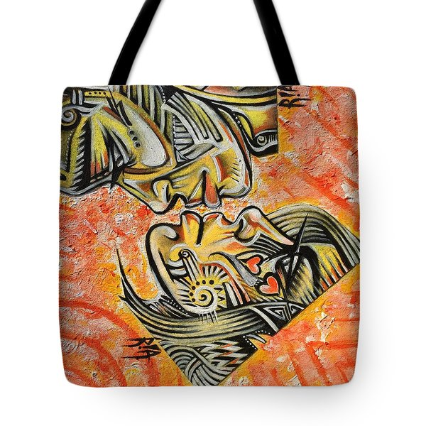 Intricate Intimacy Tote Bag by RiA RiA