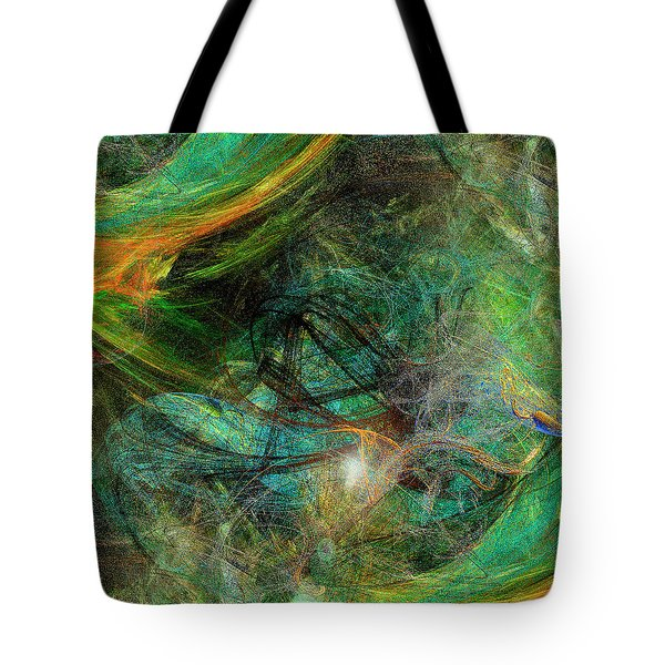 Intricate Love Tote Bag by Michael Durst