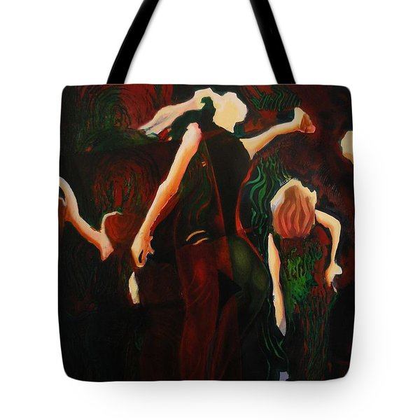 Intricate Moves Tote Bag by Georg Douglas