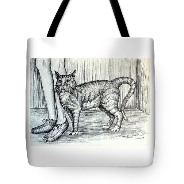 Intrigue  The Cat Tote Bag