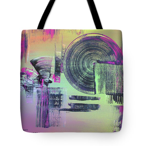 Tote Bag featuring the painting Introvert by Melissa Goodrich
