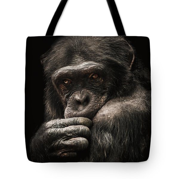 Introvert Tote Bag by Paul Neville