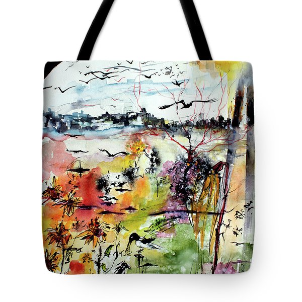 My Last Day On Earth. Tomorrow Is A New Beginning Tote Bag