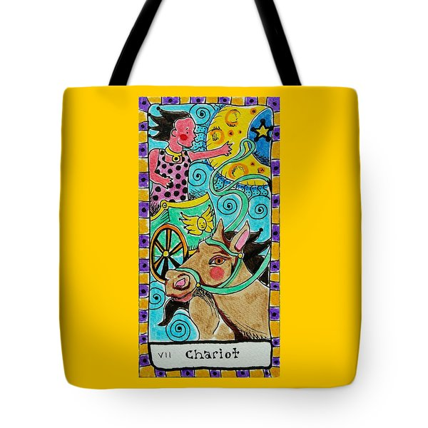 Intuitive Catalyst Card - Chariot Tote Bag