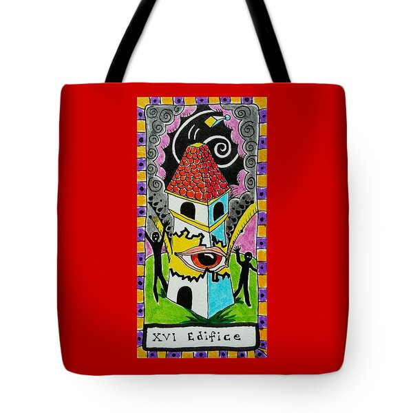 Intuitive Catalyst Card - Edifice Tote Bag