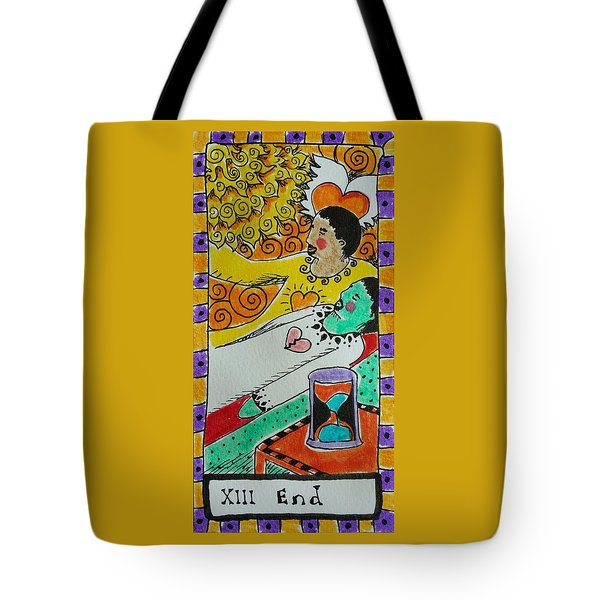 Intuitive Catalyst Card - End Tote Bag