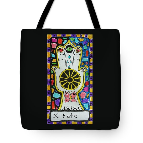 Intuitive Catalyst Card - Fate Tote Bag