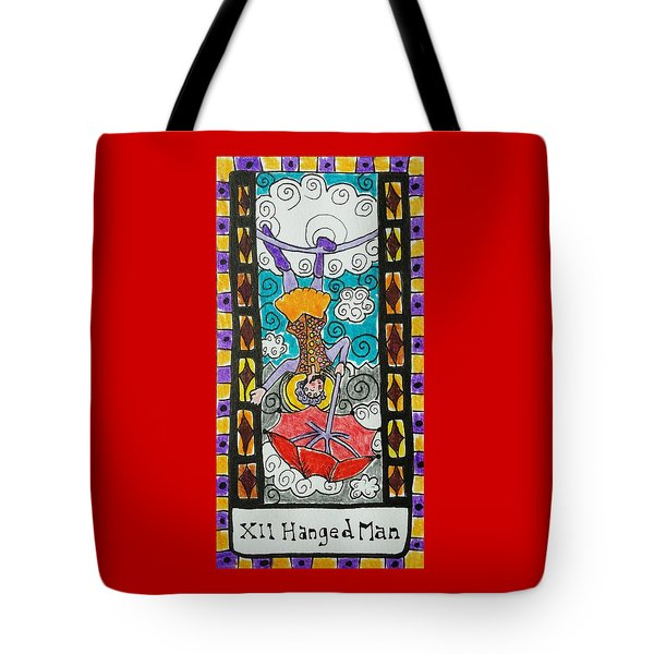 Intuitive Catalyst Card - Hanged Man Tote Bag