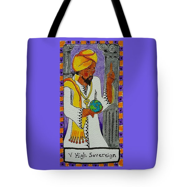 Intuitive Catalyst Card - High Sovereign Tote Bag