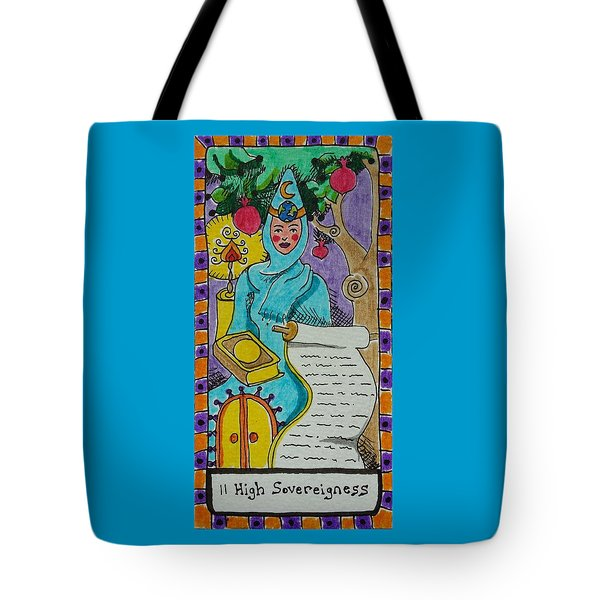 Intuitive Catalyst Card - High Sovereigness Tote Bag