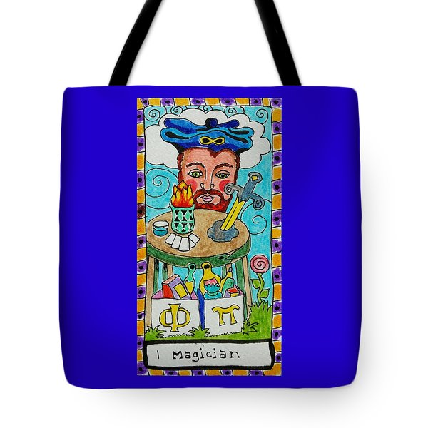 Intuitive Catalyst Card - Magician Tote Bag