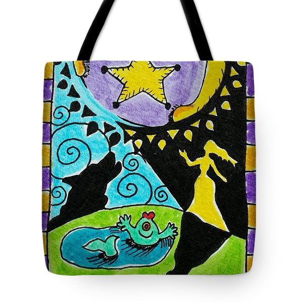 Intuitive Catalyst Card - Moon Tote Bag
