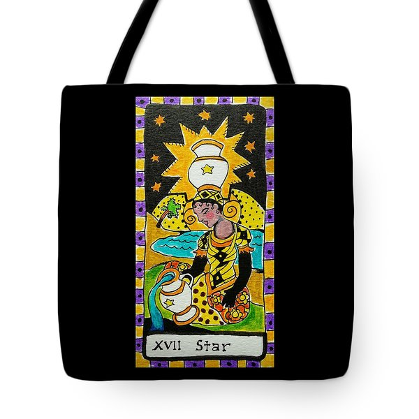 Intuitive Catalyst Card - Star Tote Bag