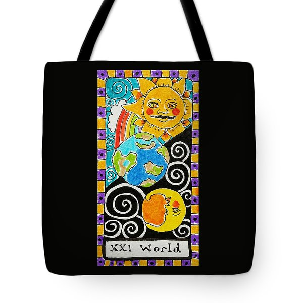 Intuitive Catalyst Card - World Tote Bag