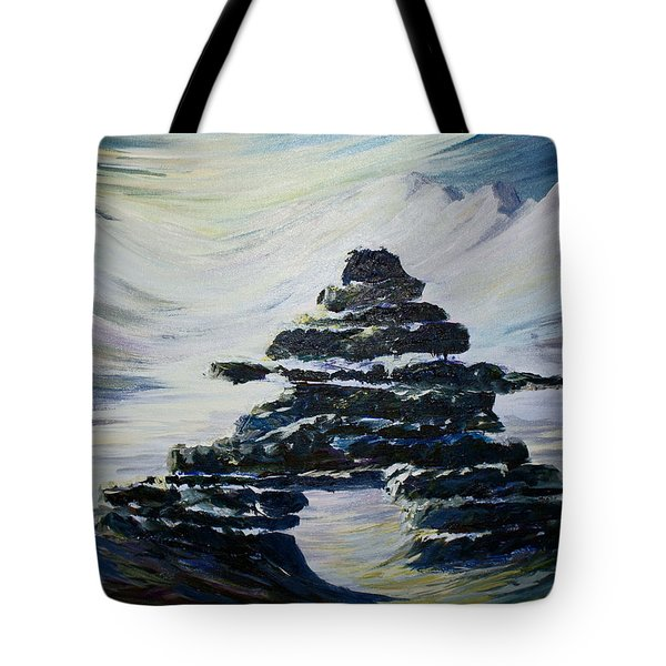 Inukshuk Tote Bag by Joanne Smoley