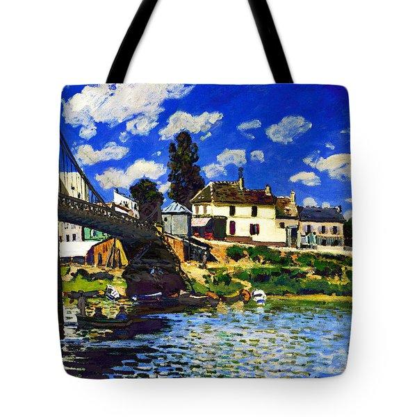 Inv Blend 14 Sisley Tote Bag